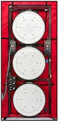 Minneapolis Blower Door Systems - Model 3 ThreeFan System
