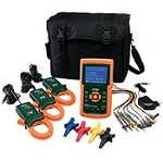Extech 1200A 3-Phase Power Analyzer/Datalogger