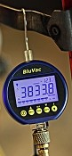 BluVac Digital Micron Gauge with Coupler