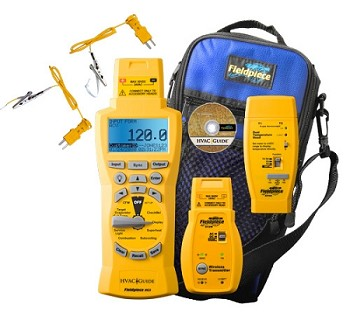 Wireless HVAC Guide® System Analyzer - HG3 - Fieldpiece HG3 wireless System with Data Logging
