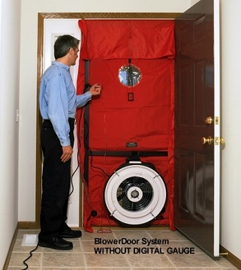 Minneapolis Blower Door (TM) System WITHOUT GAUGE - Minneapolis Blower Door