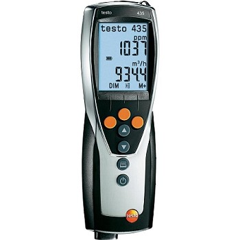 Testo 435-1 Multifunction Meter - Meter Only - Testo 435-1 Multifunction Meter-Meter only