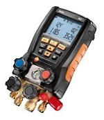 Testo 557 RSA Digital Gauge Set with Vacuum Measurement