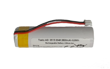 Testo 0515 5046 Replacement Battery for Testo 320