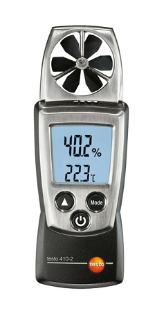 Testo 410-2 w/NTC Temperature & Integrated Humidity