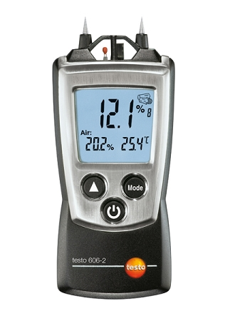 Testo 606-2 Material Moisture Meter with Humidity and Temp