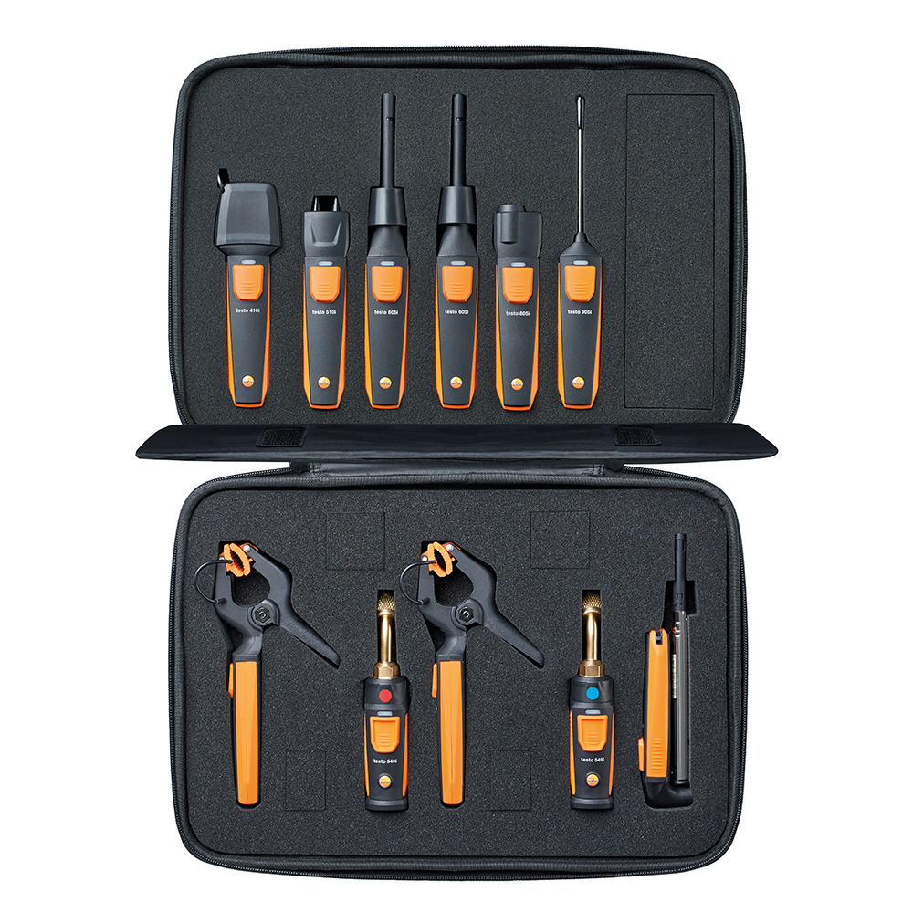 Testo Smart Probes HVAC/R Complete Kit