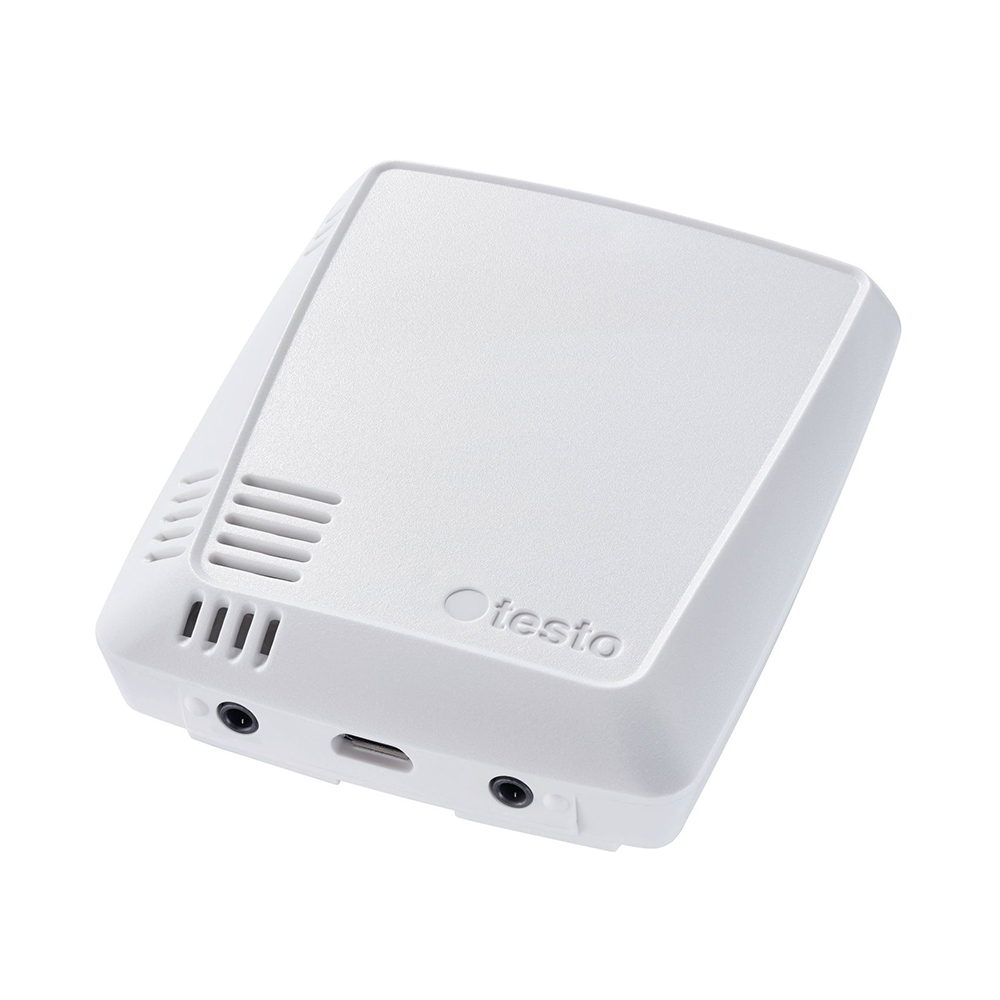 Testo 160 THE Wi-Fi Data Logger - Internal Temperature and Humidity Sensors and 2 Ports for External Sensor Probes