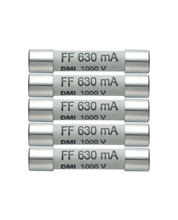Testo 0590 0006 Replacement Fuses 440 mA/1000V  (pack of 5)