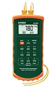 Extech 7 Thermocouple Dual Input Datalogger with Alarm