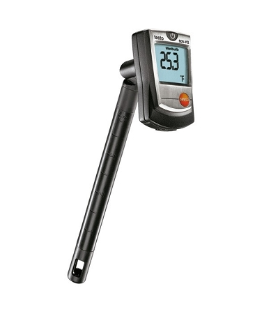 Testo 605-H2 Humidity Stick with Wet-Bulb Calculation