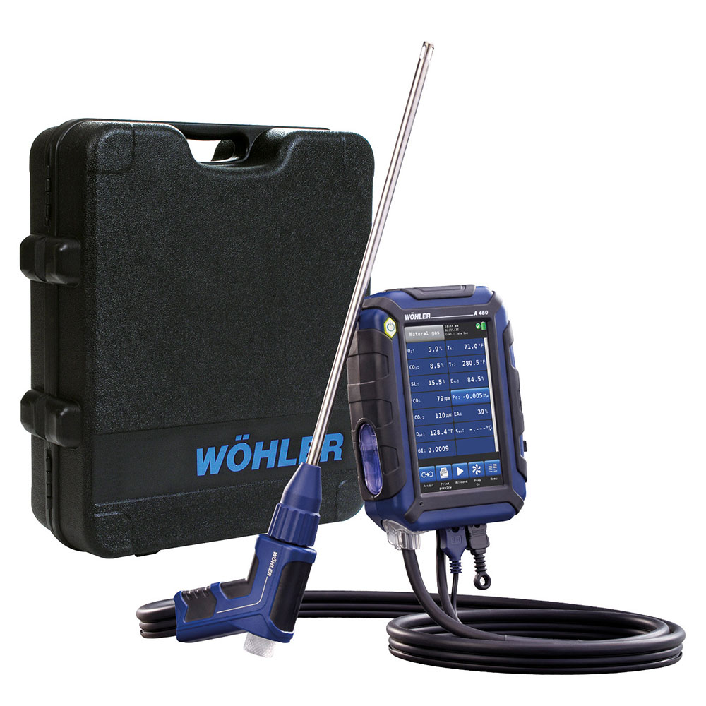 Wohler A 450 Combustion Analyzer Standard Set - 10,000 PPM