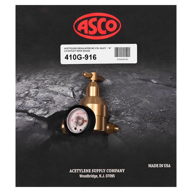 Acetylene Regulators and Parts