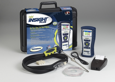Bacharach Fyrite INSIGHT Plus Combustion Analyzer with Reporting Kit