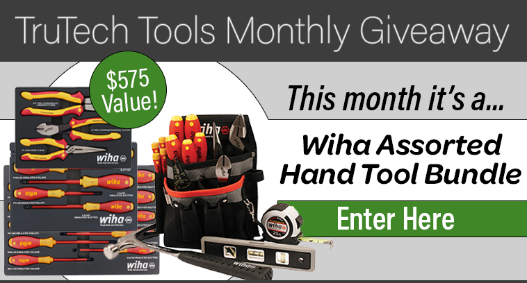 TruTech Tools Monthly Giveaway Banner