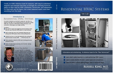 Introduction to Residential HVAC Systems - HVAC 1.0