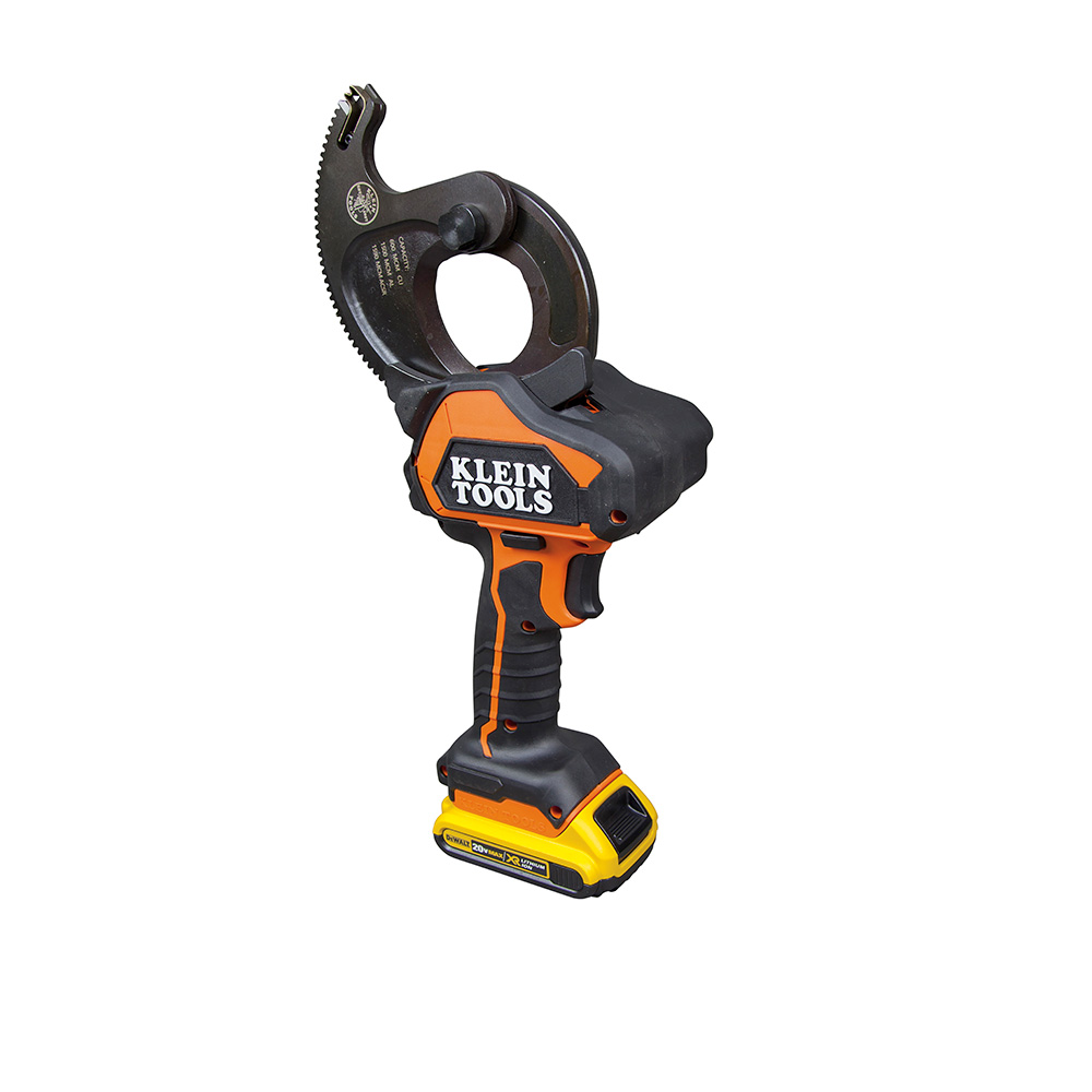 Klein Tools Bat20 G1 Battery Operated Acsr Closed Jaw