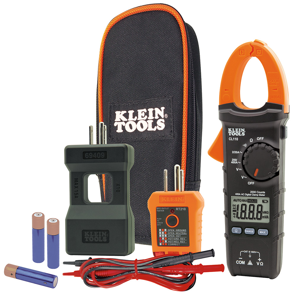 Klein Tools CL110KIT Electrical Maintenance and Test Kit