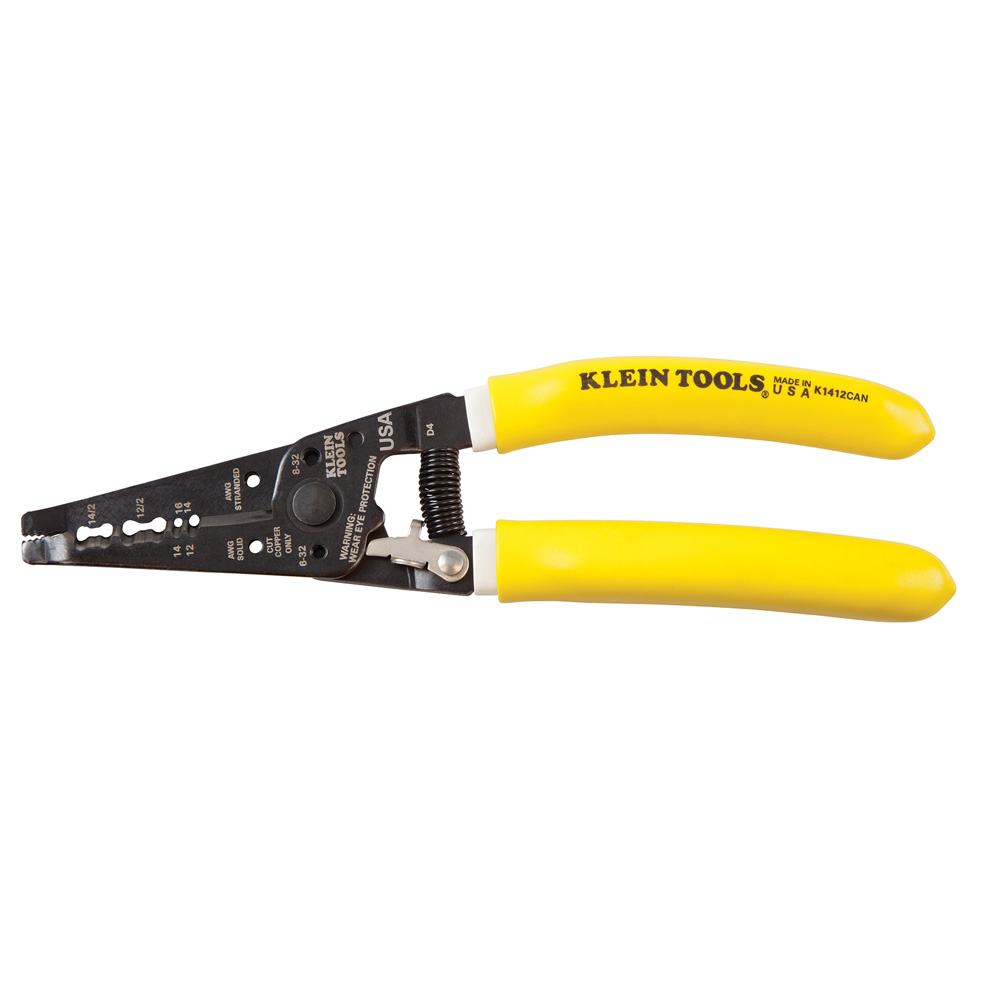 Klein Tools K1412CAN Klein-Kurve® Dual NMD-90 Cable Stripper/Cutter