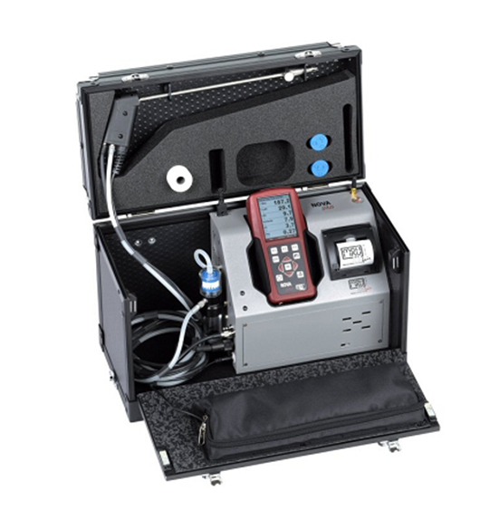 MRU NOVAplus Emission Analyzer - Kit 3 (O2/CO/NO/NO2/SO2 and CO2)