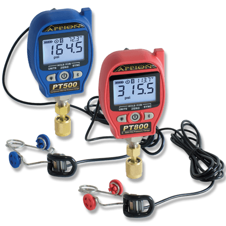 ION Wireless Pressure and Temperature Gauges