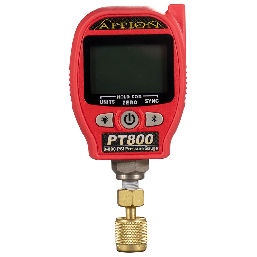 Appion PT800 Wireless Pressure Gauge with Temperature