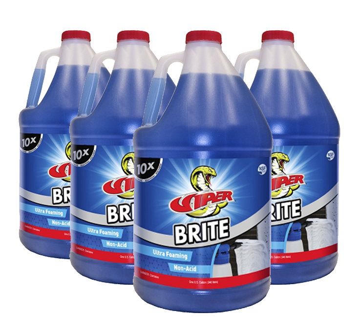 Viper Brite Coil Cleaner - 4 Gallons