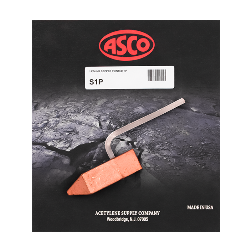 ASCO S1P - 1 lb. Copper Pointed Tip
