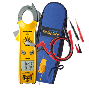 Fieldpiece SC420 Essential Clamp Meter