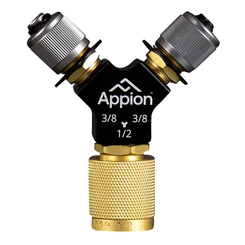 Appion SPDY12 MegaFlow Speed-Y - (2) 3/8in MFL to 1/2in FL