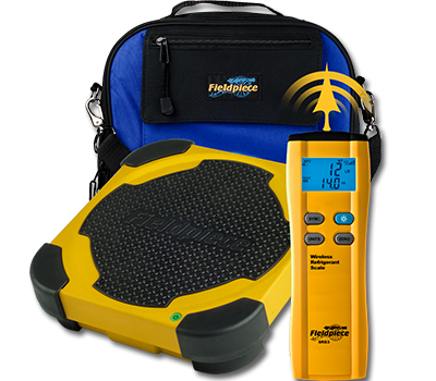 Fieldpiece SRS3 Wireless Refrigerant Scale 252 lb