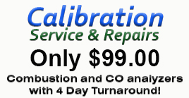 Calibration Service Pricing