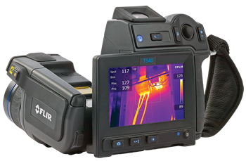 Flir T640 Thermal Imaging Infrared Camera Thermographyw/15° Lens