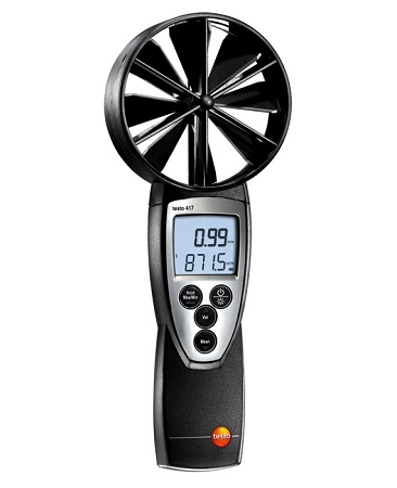 Testo 417 Large Vane Anemometer Kit with Case