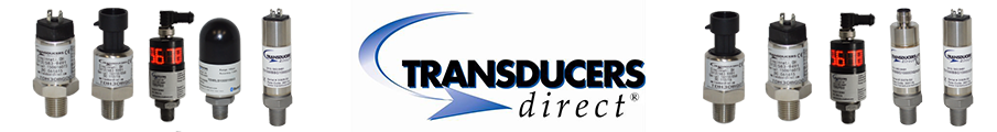 Tranducers Direct Logo with Products