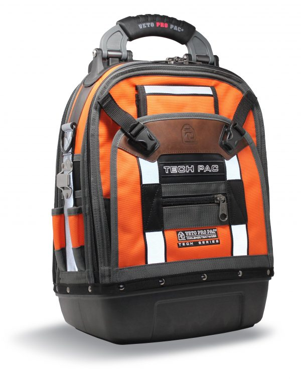 Veto TECH-PAC HI-VIZ Orange Backpack Tool Bag