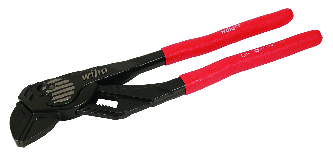 Wiha 32635 Soft Grip Pliers Wrench 10.25