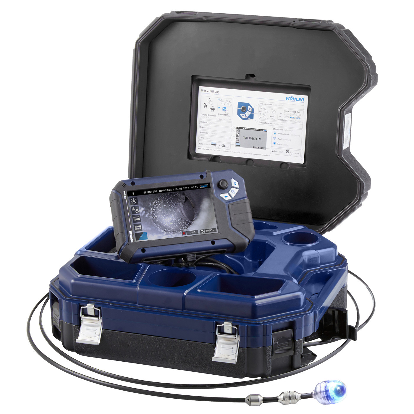 Wohler VIS 700 HD Inspection Camera