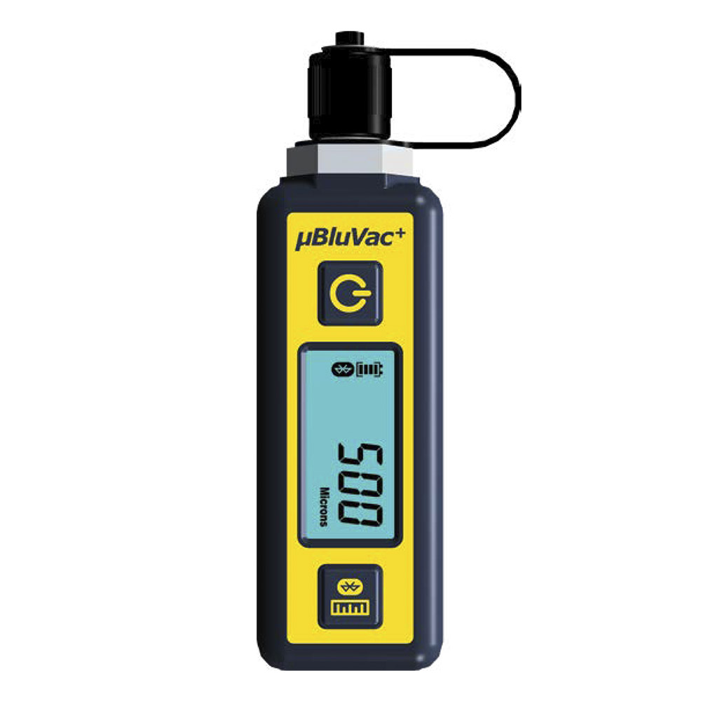 AccuTools BluVac+ Micro Wireless Digital Micron Gauge with Coupler and Bluetooth