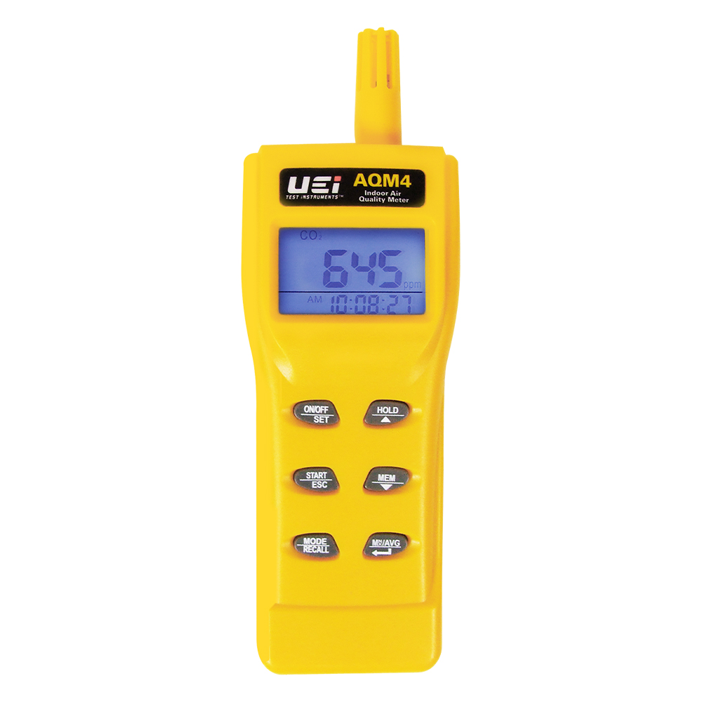 UEi AQM4 Air Quality Meter with Temp, Humidity, CO/CO2