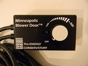 TEC Minneapolis Replacement Fan Speed Controller for Blower Door