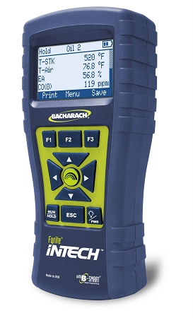 Bacharach Fyrite InTech Residential Combustion Analyzer with Hard Case