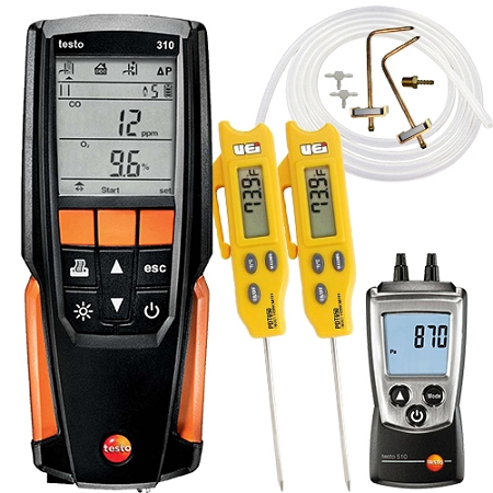 Testo 310 Tune and Check Kit