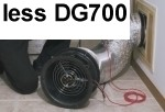 TEC Minneapolis Duct Blaster System LESS DG-700