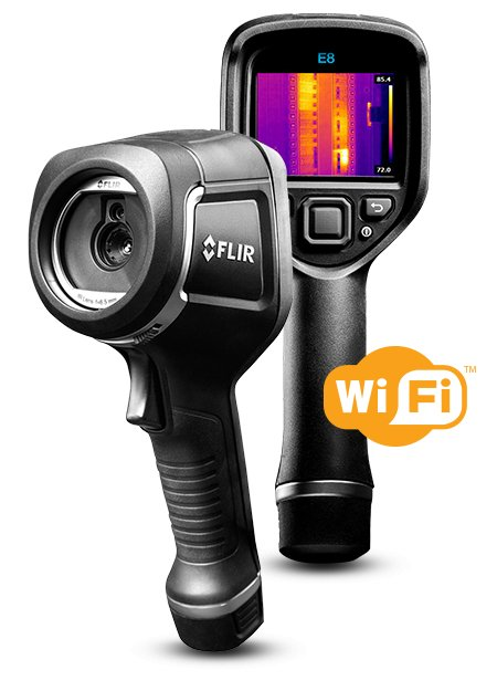 FLIR E8xt IR Camera w/MSX and WiFi 320 x 240 Resolution