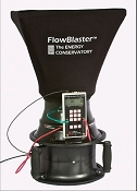 TEC Minneapolis FlowBlaster(TM) -Powered FlowHood - Acc'y for DuctBlaster