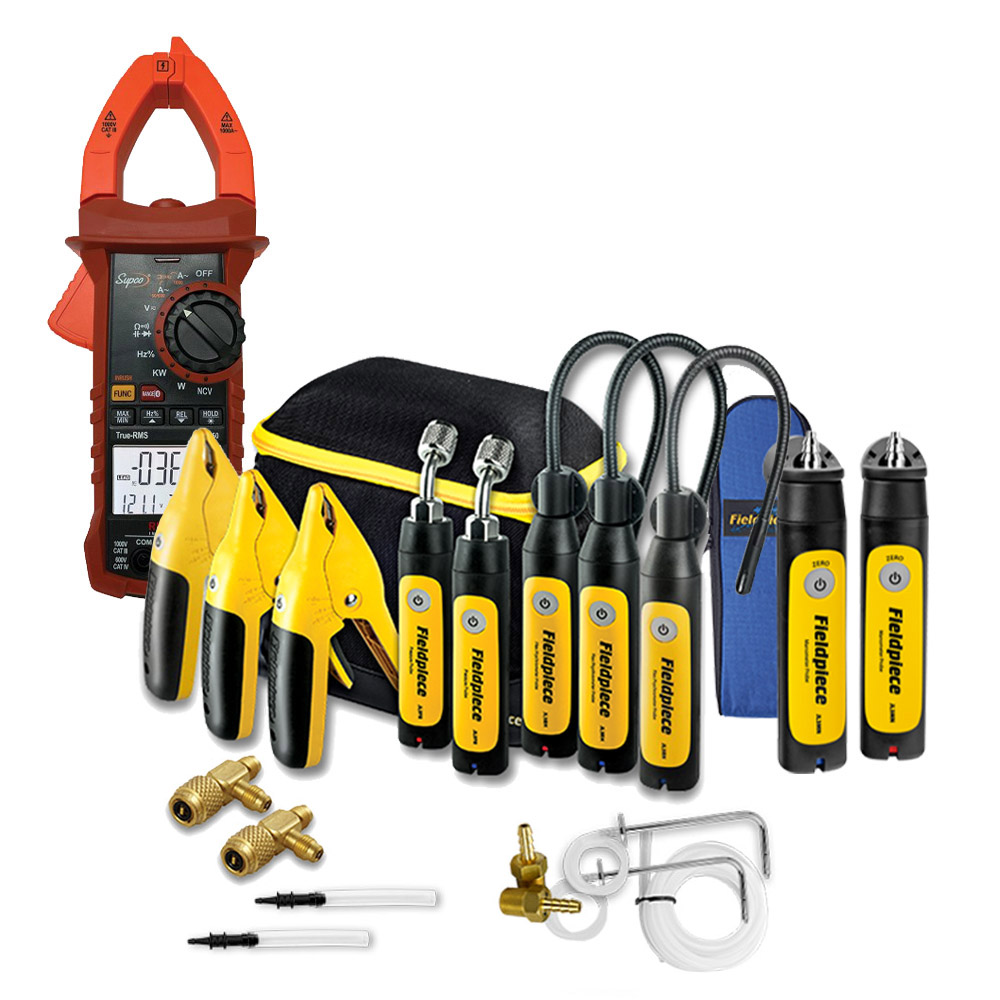 Fieldpiece Professional Job Link Kit for measureQuick with Electrical and Pressure - TTT Exclusive
