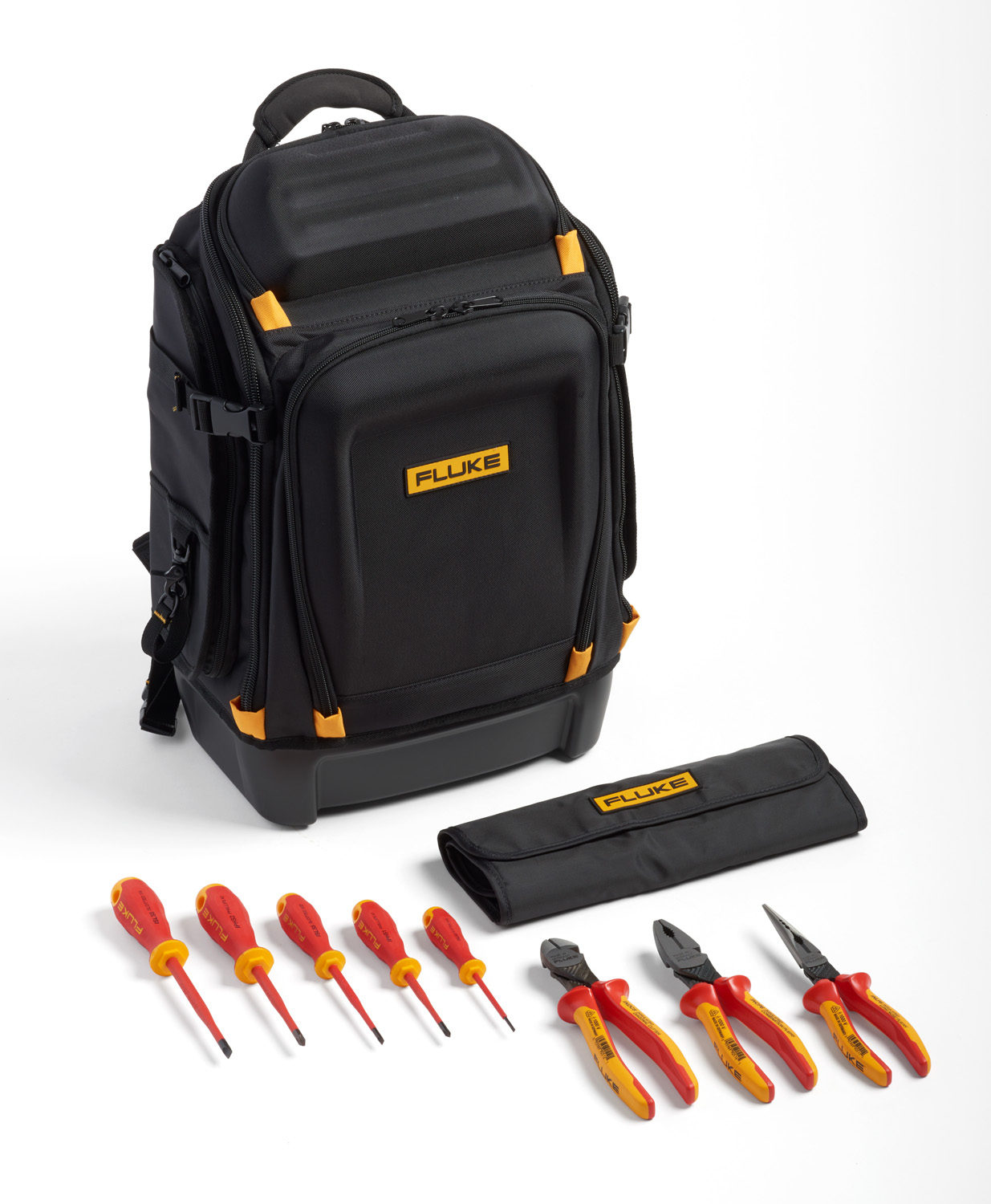 Fluke IKPK7 Insulated Hand Tools Starter Kit with Professional Backpack