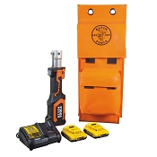 Klein Tools BAT207T13 Battery-Op 7-Ton Cable Cutter/Crimper, No Heads