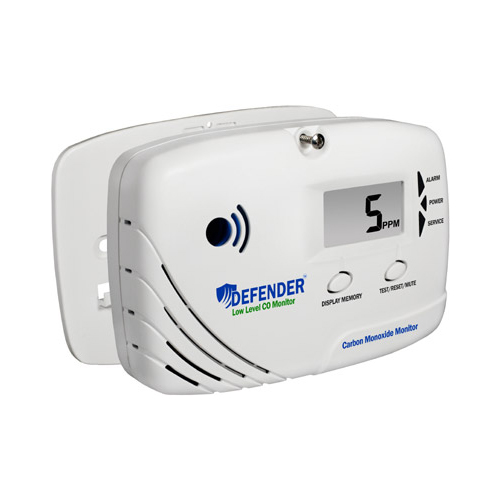 Defender LL6170 Low Level Carbon Monoxide Monitor-Alarm